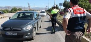 Elazığ'da bayram öncesi trafik uygulaması