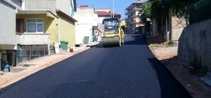 Körfez'e 40 bin ton asfalt