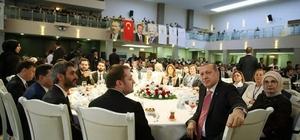 Ceyda Çetin Erenler, Ankara'da vefa iftarına katıldı
