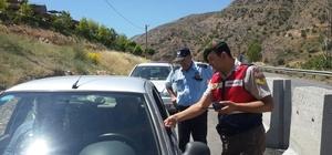 Jandarma Trafikten  bayram denetimi