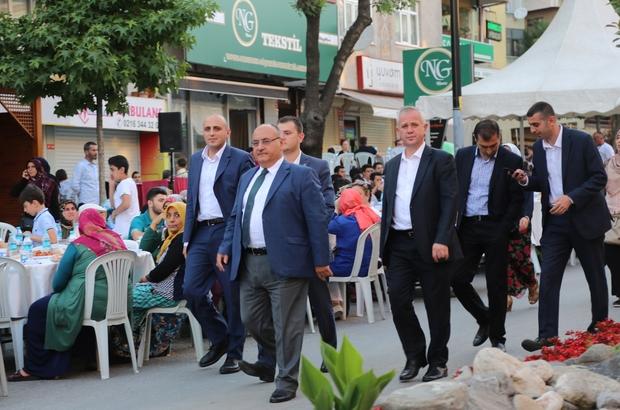 Ümraniye'de 5 yıldızlı son mahalle iftarı