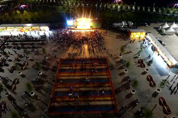 İBB'nin Maltepe Ramazan ayı etkinlik alanı havadan görüntülendi