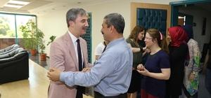 Turgutlu Belediyesi'nde bayram mutluluğu yaşandı