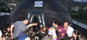 Tunceli Belediyesi'nden uzay çadırı