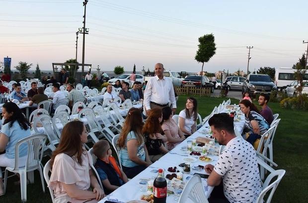 Hayrabolu Belediyesi personeli iftar yemeğinde buluştu