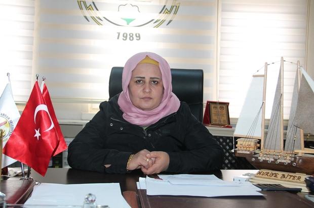 Kadın Kolları Başkanı Huriye Biter Ramazan Bayramını kutladı