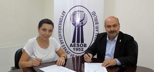 ESOB, güneş enerji santralı için yüklenici firma ile imzaları attı