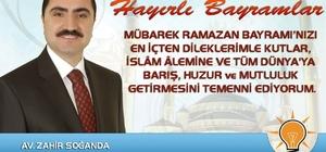 Başkan Soğanda'nın Ramazan Bayramı mesajı