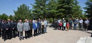 Kırşehir protokolü şehitlikte