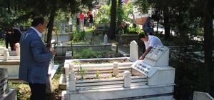 Gülüç'te mezarlıklarda Kur'an-ı Kerim okutuldu