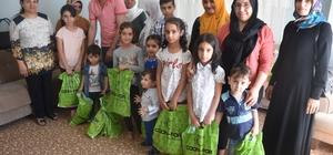 İhtiyaç sahibi ailelere ve yetimlere yardım yapıldı