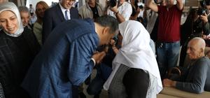 Gaziantep protokolünden Huzurevi ve Şehitlik ziyareti