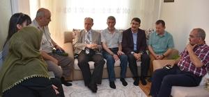 Şehzadeler 'de ilk bayram ziyareti şehit ailelerine