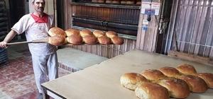 Bayram öncesi köy ekmeğine ilgi