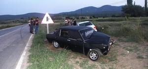 Hisarcık'ta trafik kazası: 3 Yaralı