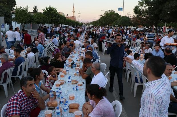 AK Parti Adana İl Başkanlığı'ndan iftar yemeği