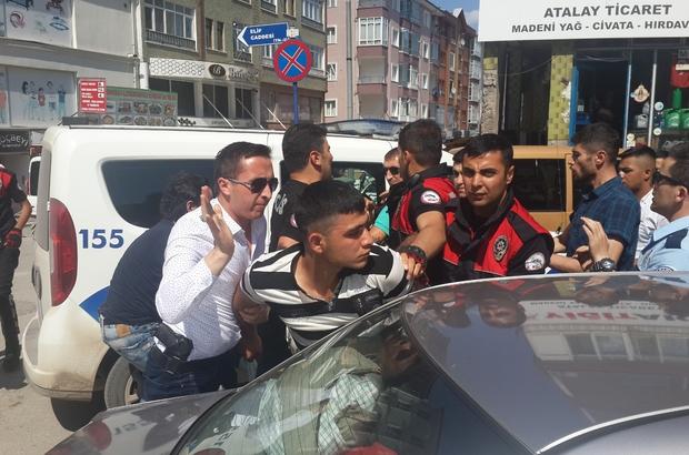 Polise direnen 3 kişi gözaltına alındı