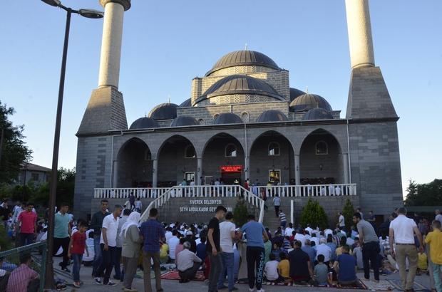 Siverek'te Ramazan Bayramı'nın 1'inci günü