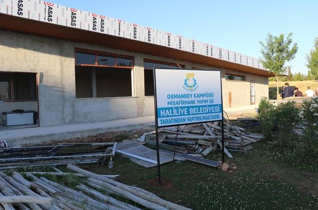 Demirkol, hasta yakınları için yapılan tesisin inşaatını inceledi