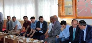 İspir'de bayramlaşma programına yoğun katılım
