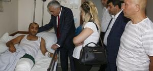 GMİS'ten hasta ve kazalı ziyaretleri