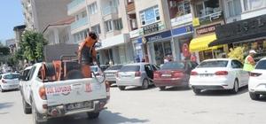 Bilecik'in cadde ve sokakları gül suyu koktu