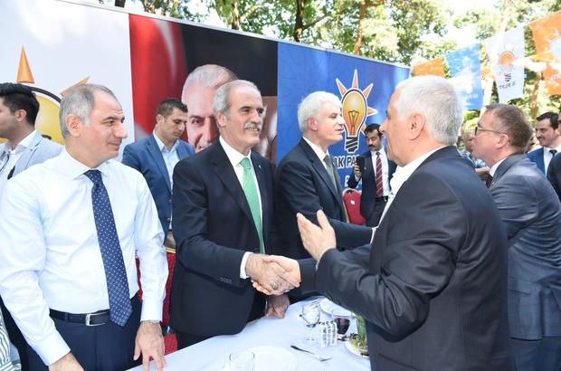 Altepe AK Parti bayramlaşma programına katıldı