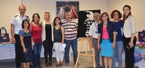 Nazilli Devlet Hastanesinde el sanatları sergisi açıldı