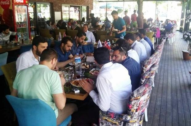 MÜSİAD'da bayramlaşma kahvaltısı