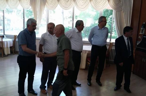 İnönü Üniversitesinde bayramlaşma töreni
