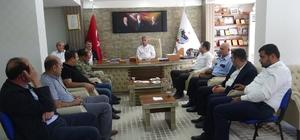 Doğanşehir'de resmi bayramlaşma töreni yapıldı