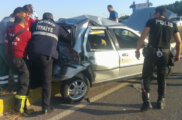 Adıyaman'da zincirleme trafik kazası
