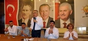 Nazilli AK Parti'de bayramlaşma