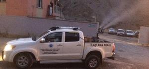 Hakkari'de sivrisinek, haşerelerle mücadele çalışması