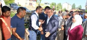 Ak Parti Muş Milletvekili Şimşek Varto da bayramlaştı
