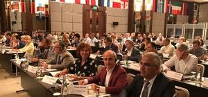 Başkan Akgün, Ukrayna'da Kongre İzleme Toplantısı'na katıldı