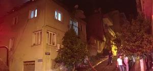 Efeler'de bir ev kül oldu
