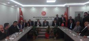 MHP'de Çorum Teşkilatlarında bayramlaşma programı