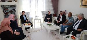 Vali Pekmez'den şehit ailelerine bayram ziyareti