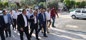 Genel Müdür Coşkun, Akhisar'daki yağmursuyu hattını inceledi