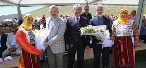 Başkan Çelik, Akkışla Yoğurt Festivali'nde ilçeye yapılan yatırımları anlattı