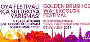 Altın fırça suluboya yarışması ve festivali düzenlenecek