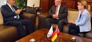 Alman Başkonsolos'tan Başkan Kocaoğlu'na veda ziyareti