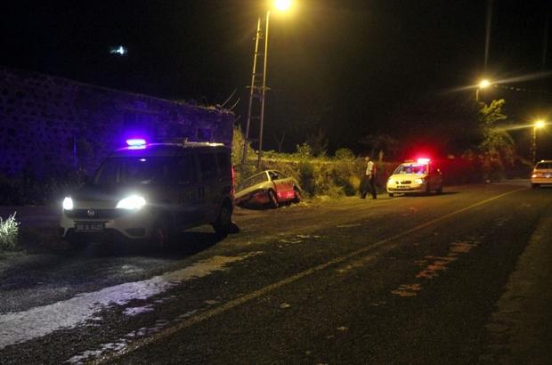 Otomobil şarampole düştü: 6 yaralı