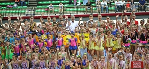 Jimnastikte uluslararası buluşma