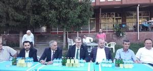 AK Parti Bilecik İl Başkanı Karabıyık ilçe teşkilatlarıyla bir araya geldi