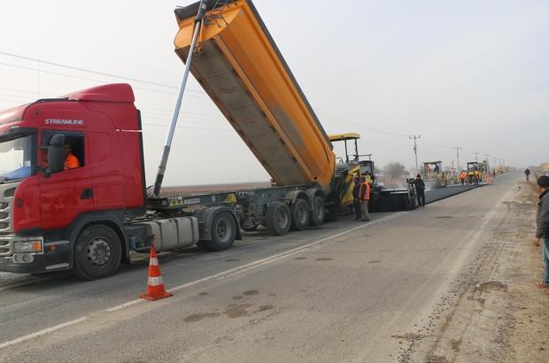 Harran'ın asfalt sorunu çözüme kavuşuyor