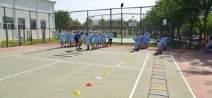 Diyarbakır'da yaz spor okullarına yoğun ilgi