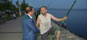 Başkan Toltar bayramı Tavşancıl sahilinde noktaladı