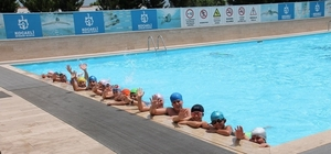 Havuzlarda yaz sezonu açıldı
